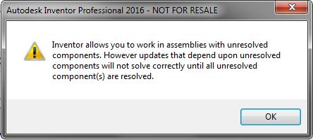 Missing Content Center Files on Opening an Assembly  – Procad